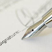 Signature with Classic Pen